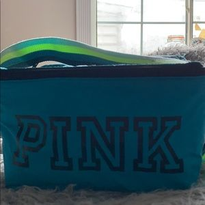 Blue PINK lunchbox